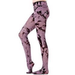 Collants 'Purple Batik'
