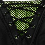 Leggings 'Punk Stretch' Noir et Vert