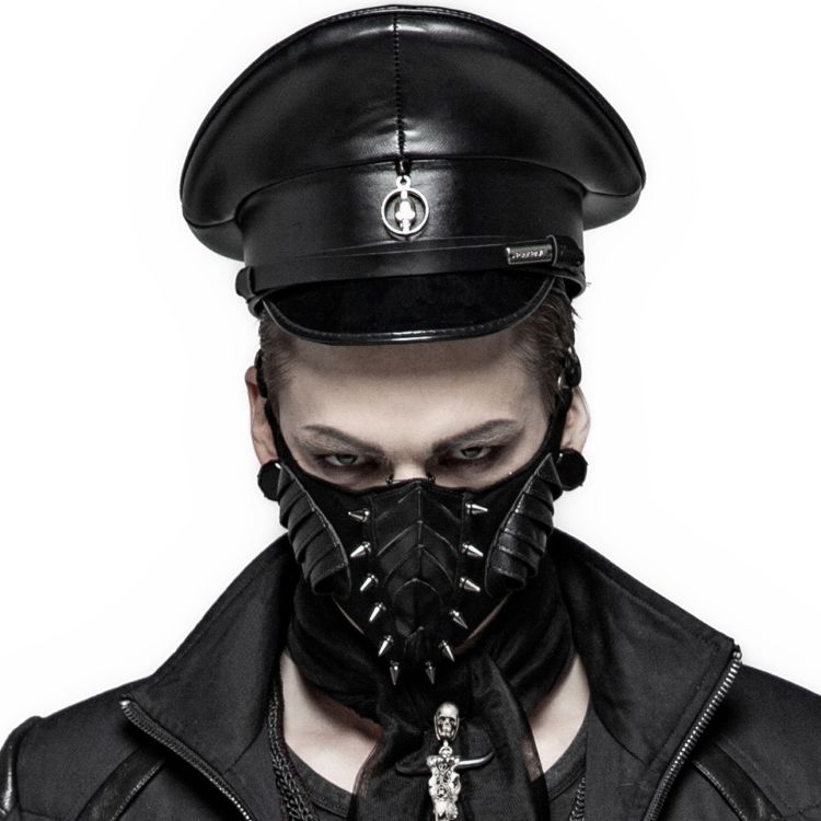 Black 'Insect' Face Mask