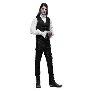 Pantalon 'Asmodeus' Noir