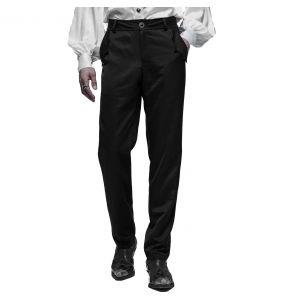 Pantalon Goth 'Bat Pockets' Noir