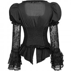 'Black Dust' Gothic Lolita Blouse