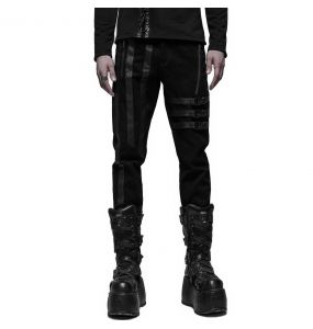Black 'Dark Devil' Pants