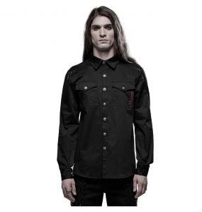 Black 'Wolfram' Shirt