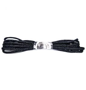 """Black New Rock Laces 59"""" (150 cm)"""