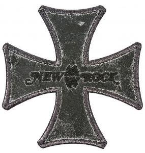 Patch New Rock Cross Noir