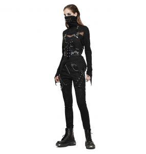 Pantalon 'Thorne' Noir pour Femmes