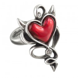 Bague 'Devil Heart'
