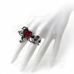 'Bed Of Blood Roses' Ring