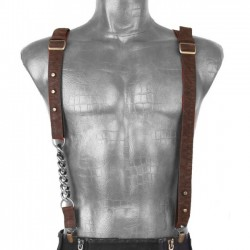 Brown Wasteland Suspenders