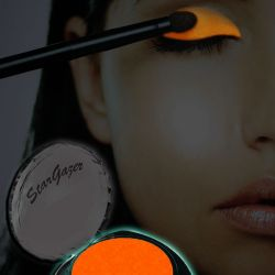UV Orange Eyeshadow