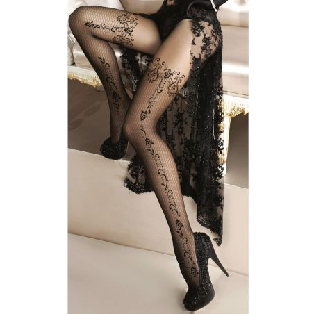 Collants Noirs Ballerina 135 'Alluria'