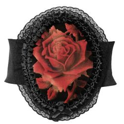 Large Ceinture 'Red Rose'