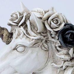 Statuette présentoir à bijoux 'Unicorn'