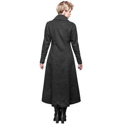 Manteau Long 'Bellona' Noir