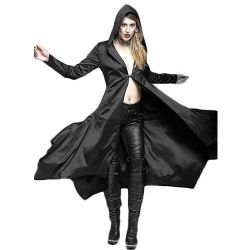 Black Noble Long Coat