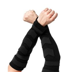 Arm Warmers 'Dark Power' Noires