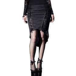 Black 'Syren Song' Skirt