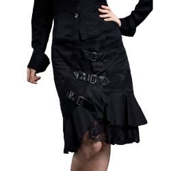 Black 'Nocturna' Skirt