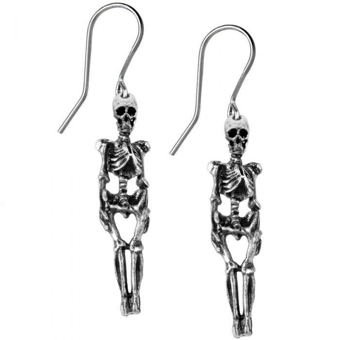 Boucles d'Oreilles 'Skeleton'