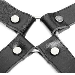 Black Catharsis Suspenders