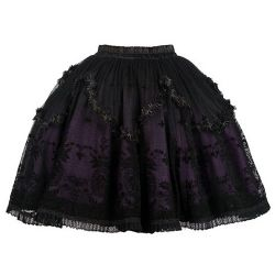 'Purple Dust' Skirt