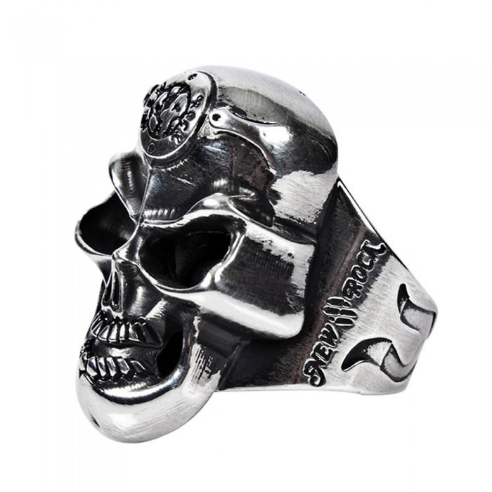 New Rock Skull Ring