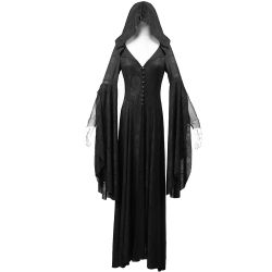 Robe-Manteau Noire à Capuche 'Theatre of Tragedy'