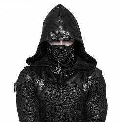 Black Reptilian Mask