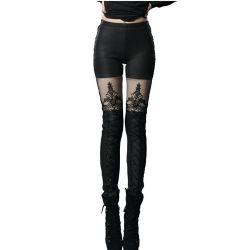Leggings Polaire 'Mac Beth' Noir