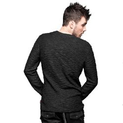 Black Long Sleeves Pullover 'Union Jack'