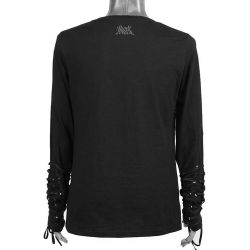 Black Long Sleeves Sweater 'Zombie Boy'
