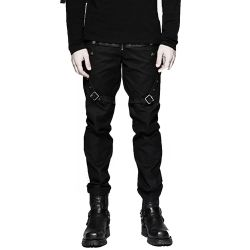 Black 'Aries' Pants