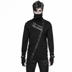 Polo/Gilet Manches Longues Noir 'Assassin's Creed'