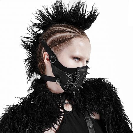 Black 'Dragon' Face Mask