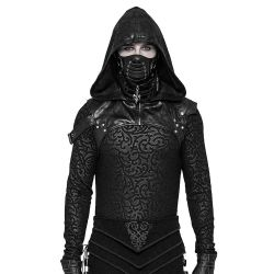 Black 'Assassin's Creed' Hood Harness