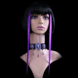 Extensions de Cheveux Violettes
