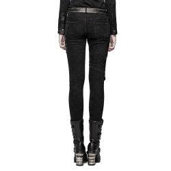 Black 'Gothic Trooper' Pants