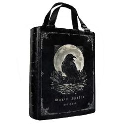 'Magic Spells' Black Raven Book Bag
