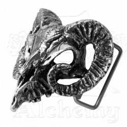 'Ram's Skull' Belt Buckle