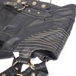Black 'Blitzkrieg' Mini Shorts