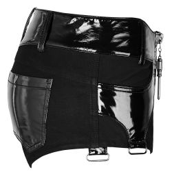 Black 'Ballista' Shorts and Chaps