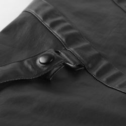 Black 'Monument' Pants with Removable Straps