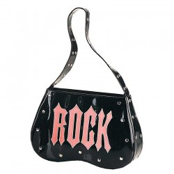 Black 'Rock' Handbag