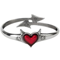 'Devil Heart' Bangle