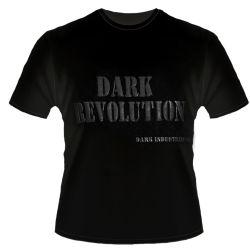T-Shirt Noir 'Dark Revolution'