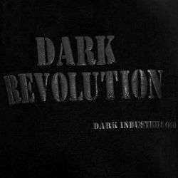 Black 'Dark Revolution' T-Shirt