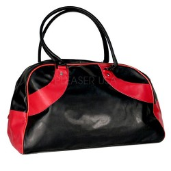 Black and Red 'Bowling Bag'