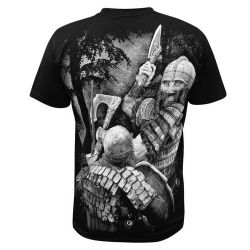 Black 'Viking Rise' T-Shirt