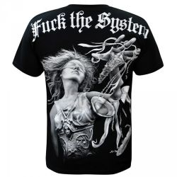 Black 'F*ck the System' T-Shirt